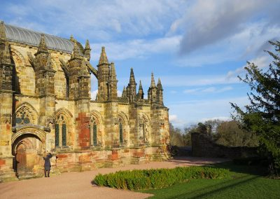 THE MEDIEVAL TOUR ROSSLYN CHAPEL
